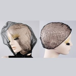 Lot 2 Vintage 50s Hair Net Bouffant Covers